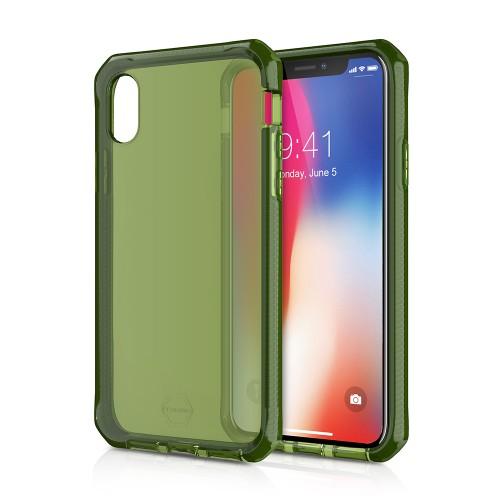 ITSKINS  / Supreme For Apple iPhone X -KAKI
