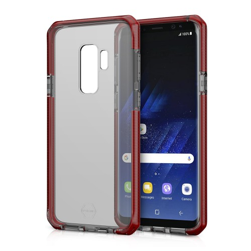 ITSKINS  / Supreme For Galaxy S9+ -Red and Black
