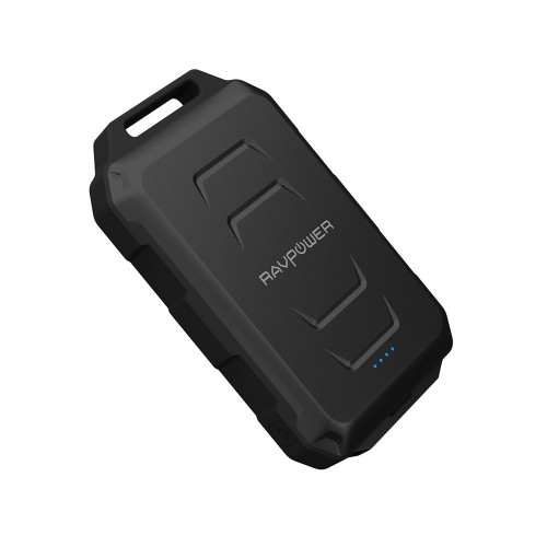 RAVPower / Power Bank / 10050mAh Waterproof Dustproof and Shockproof-Black