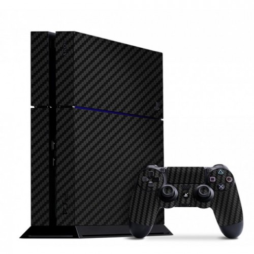 Slickwraps / Playstation 4 Carbon Fiber Black Skins - Default