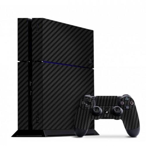 Slickwraps / Playstation 4 Carbon Fiber Black Skins - Default