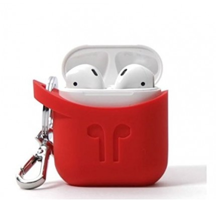 MHUB AIRPODS SILICONE CASE - RED