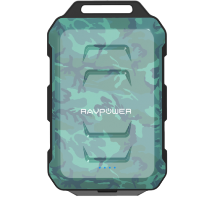 RAVPower / Power Bank / Xtreme 10050mAh Rugged iSmart-Camouflage