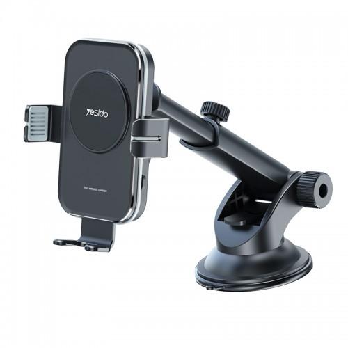 yesido wireless holder press induction 15w wireless car holder