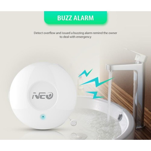 Neo. smart home device wi-fi smart device water sensor
