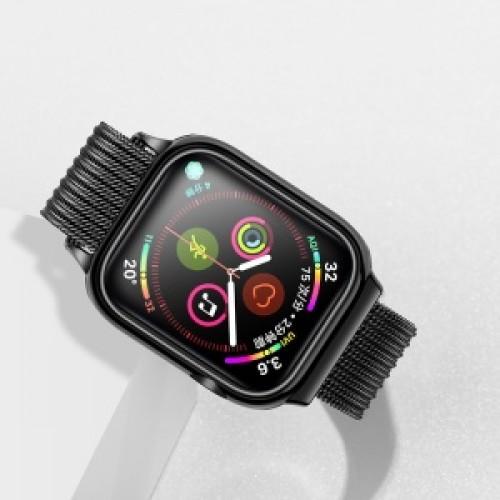 USAMS Apple watch 4 Magnetic Loop strap 44mm black