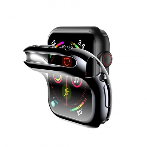 USAMS TPU Full Protective Case For Apple watch 44mm black