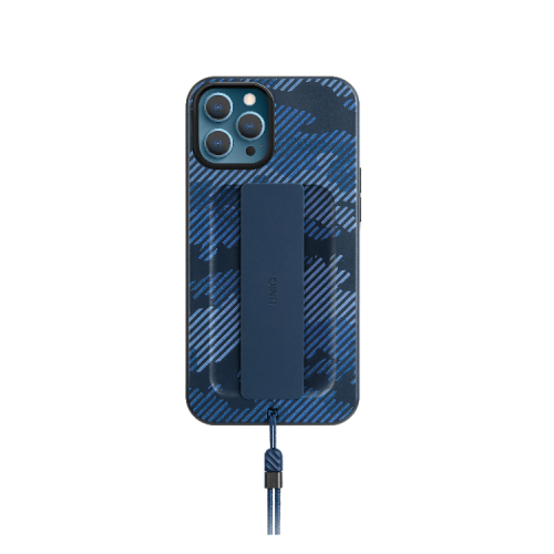 Uniq- Hybrid Heldro Designer Edition Case For IPhone 12 Pro - Marine Camo