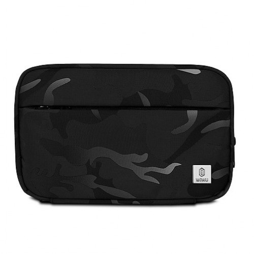 WiWU Camou Travel pouch bag black