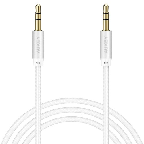 AUKEY 3.5MM AUX AUDIO CABLE BRAIDED NYLON