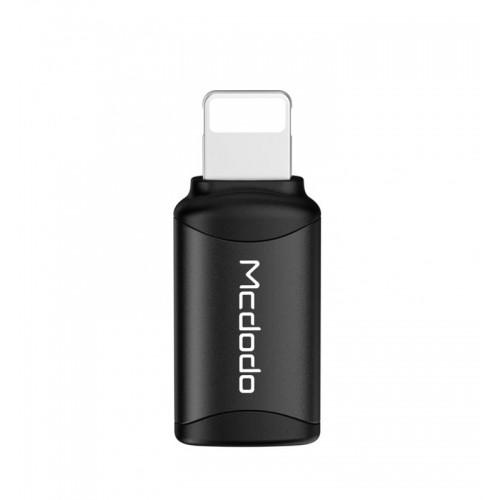 MCDODO Type-c to Lightning Connector black