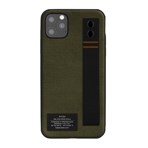 Kajsa Military Collection Straps iPhone 11 case Olive