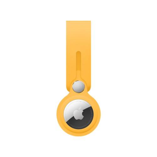 wiwu airtag silicon case yellow