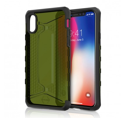 ITSKINS  / OCTANE For Apple iPhone X -KAKI