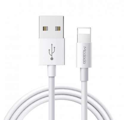 MCDODO Element Series Lightning Cable 1m white