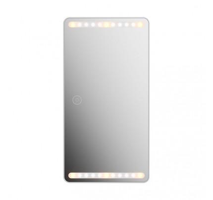 USAMS Car Fill Light Makeup Mirror (Upgraded) white