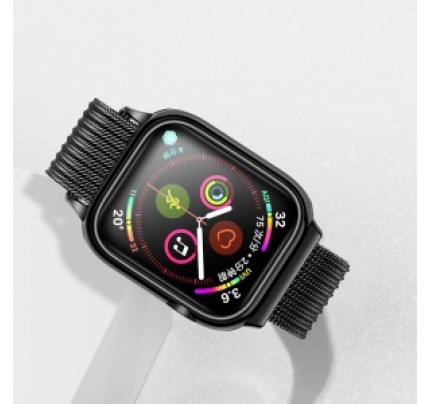 USAMS Apple watch 4 Magnetic Loop strap 44mm black