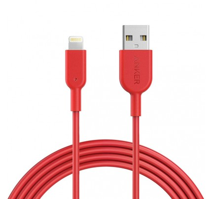 Anker PowerLine II Lightning 1.8M - Red c89
