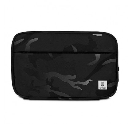 WiWU Camou Travel pouch bag black