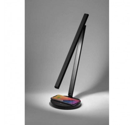 Momax Bright IoT Lamp with Wireless Charging - Black